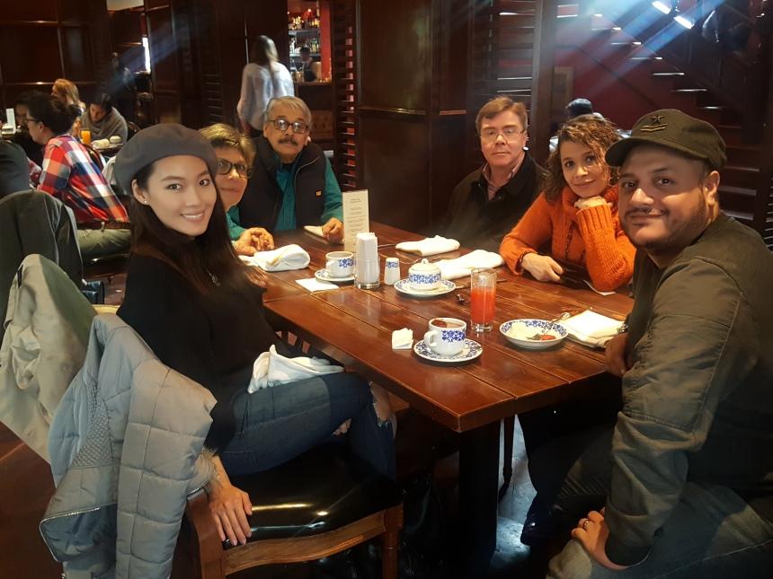 family travel in bogota colombia