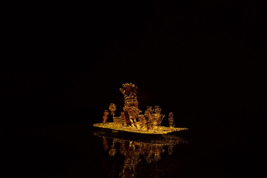 museo del oro travel in bogota colombia