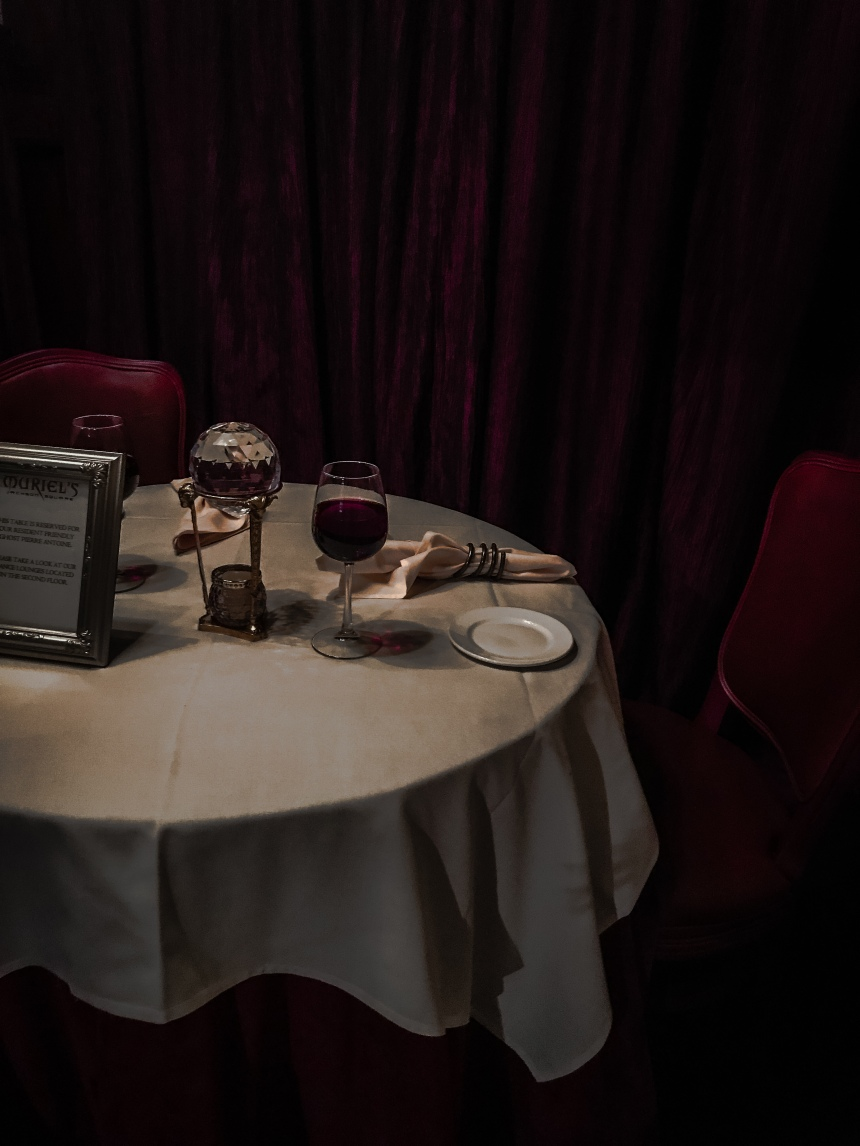 Muriel's Jackson Square visit new orleans things to do gourmets table for two ghost