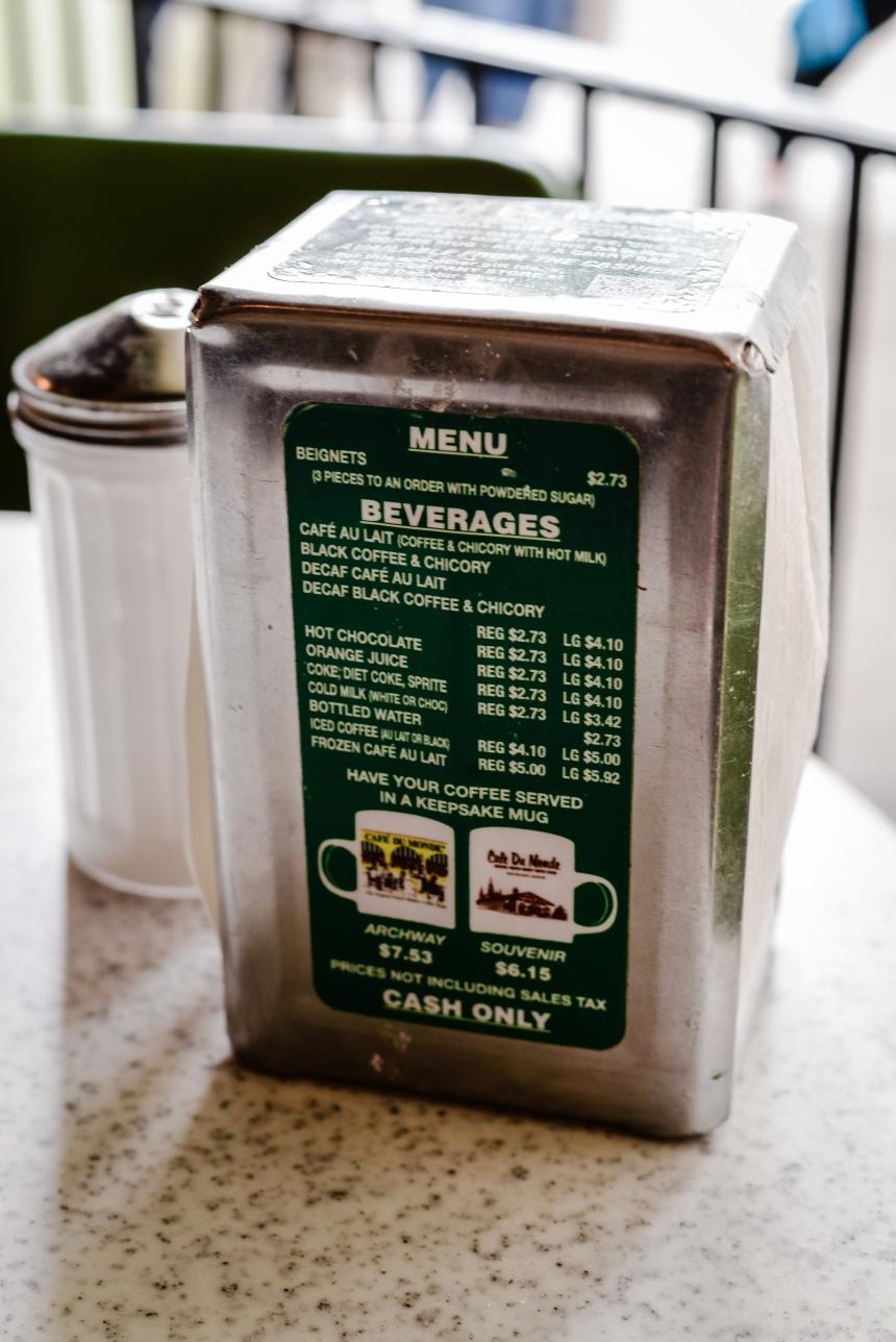 New Orlean Cafe du monte