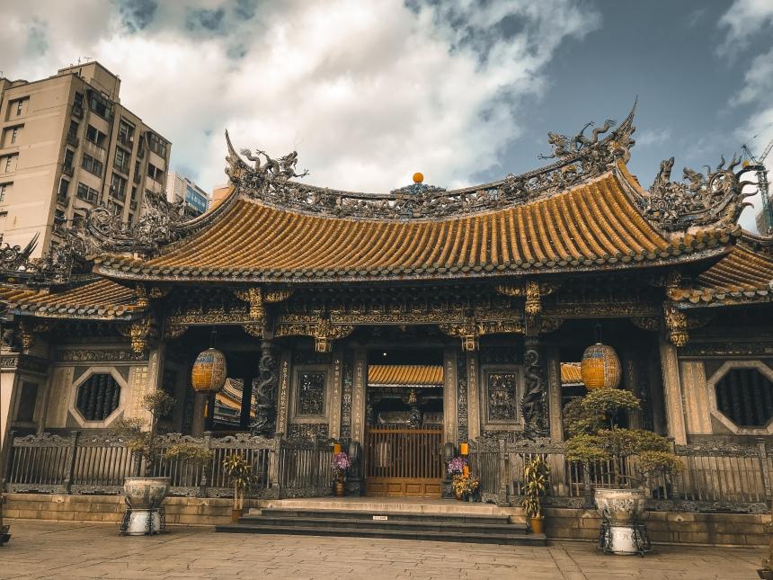 Lungshan temple 龍山寺 trip in Taipei Taiwan two day