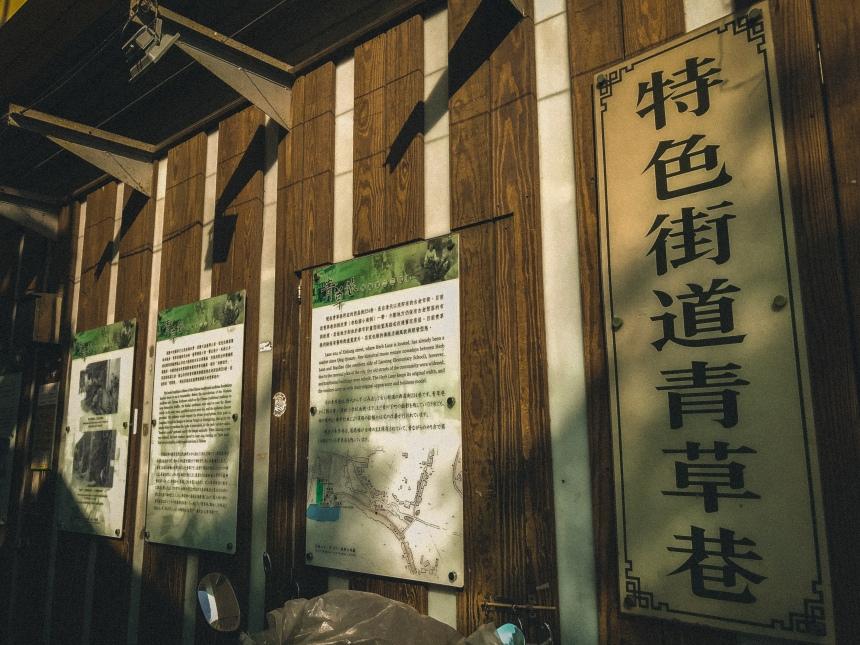 Qingcao Lane (Herb lane) 青草巷, 224 Lane, Xichang Street