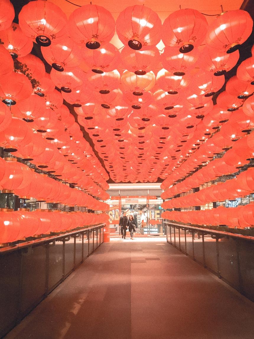 Shopping malls in Xinyi neighborhood 信義區商城