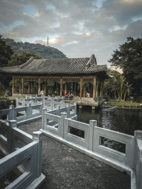Zhishan Garden 至善園 travel in Taipei taiwan architecture