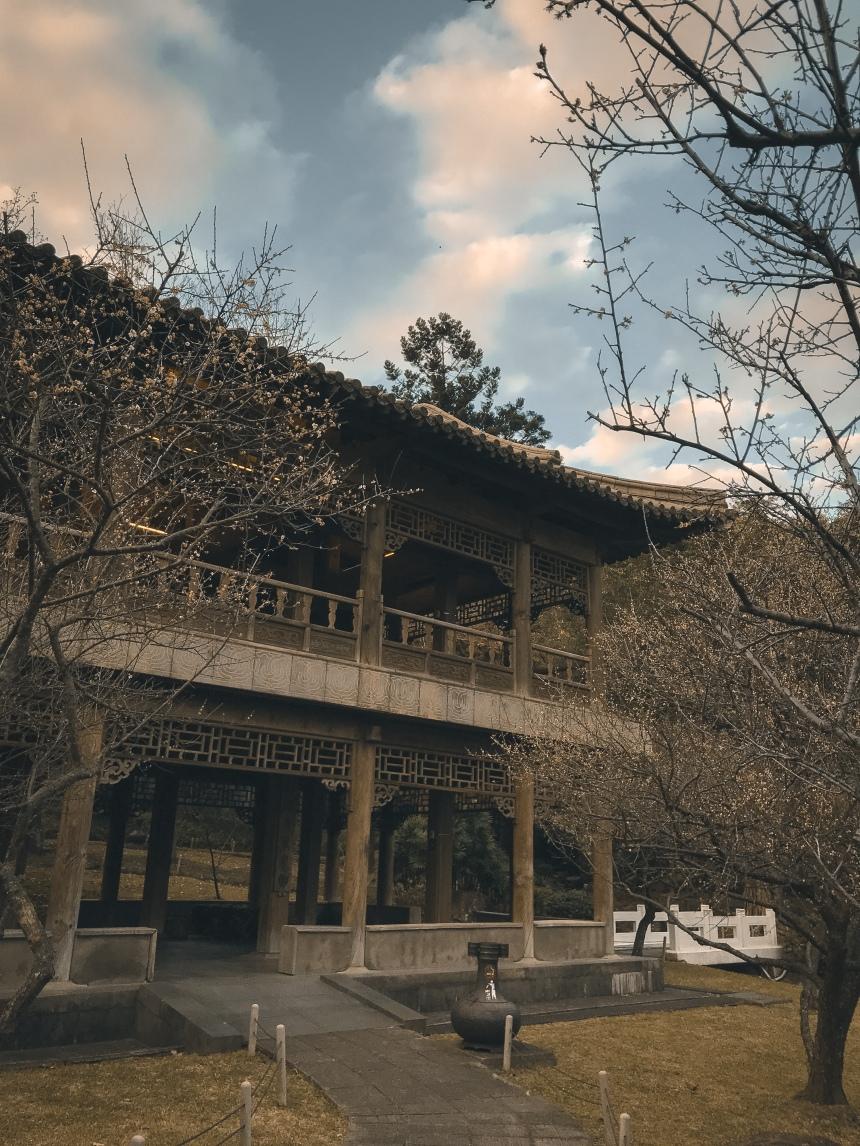 Zhishan Garden 至善園 travel in Taipei taiwan two day trip