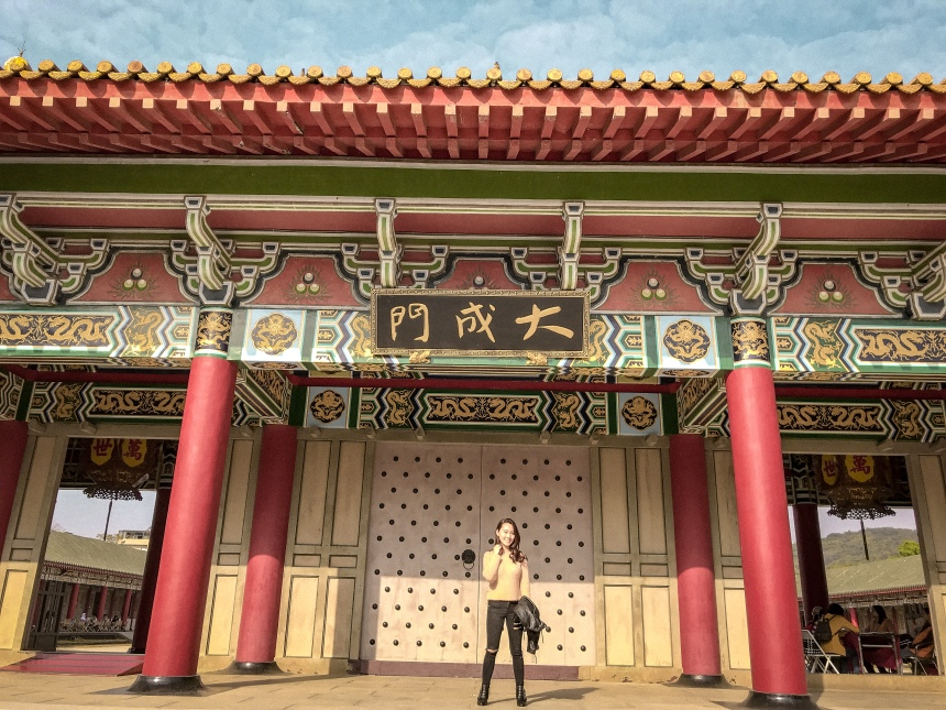 a day trip in Taiwan Kaohsiung Confucius Temple 孔廟
