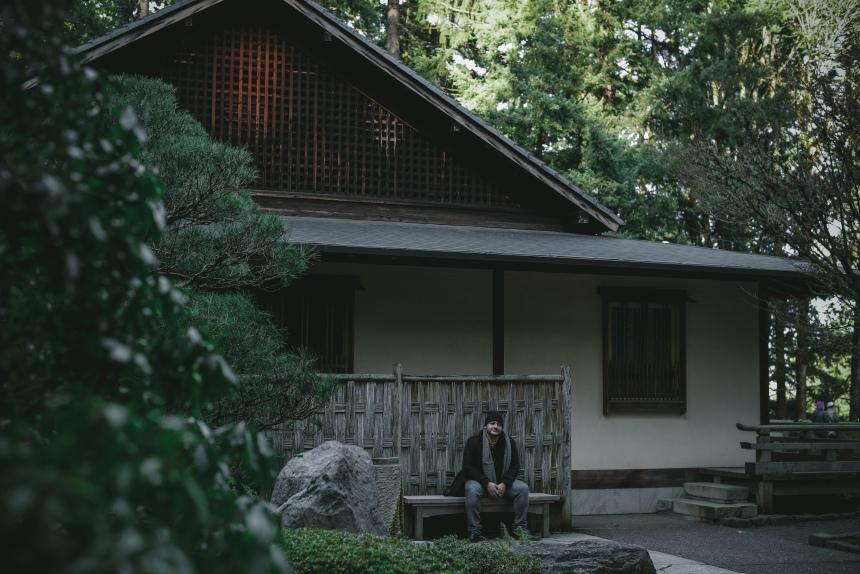 Japanese garden weekend getaway plan Portland Oregon