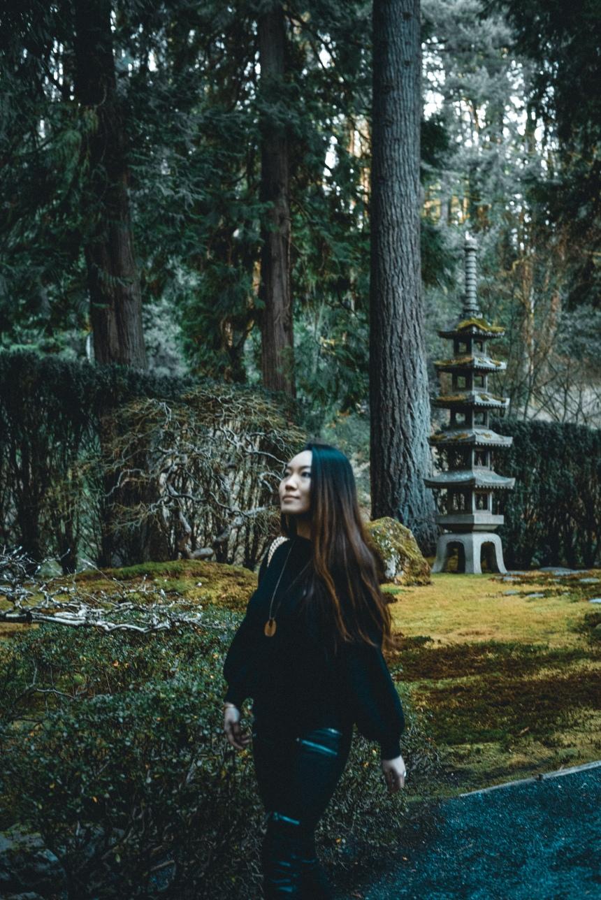 Japanese garden weekend getaway plan Portland travel must see