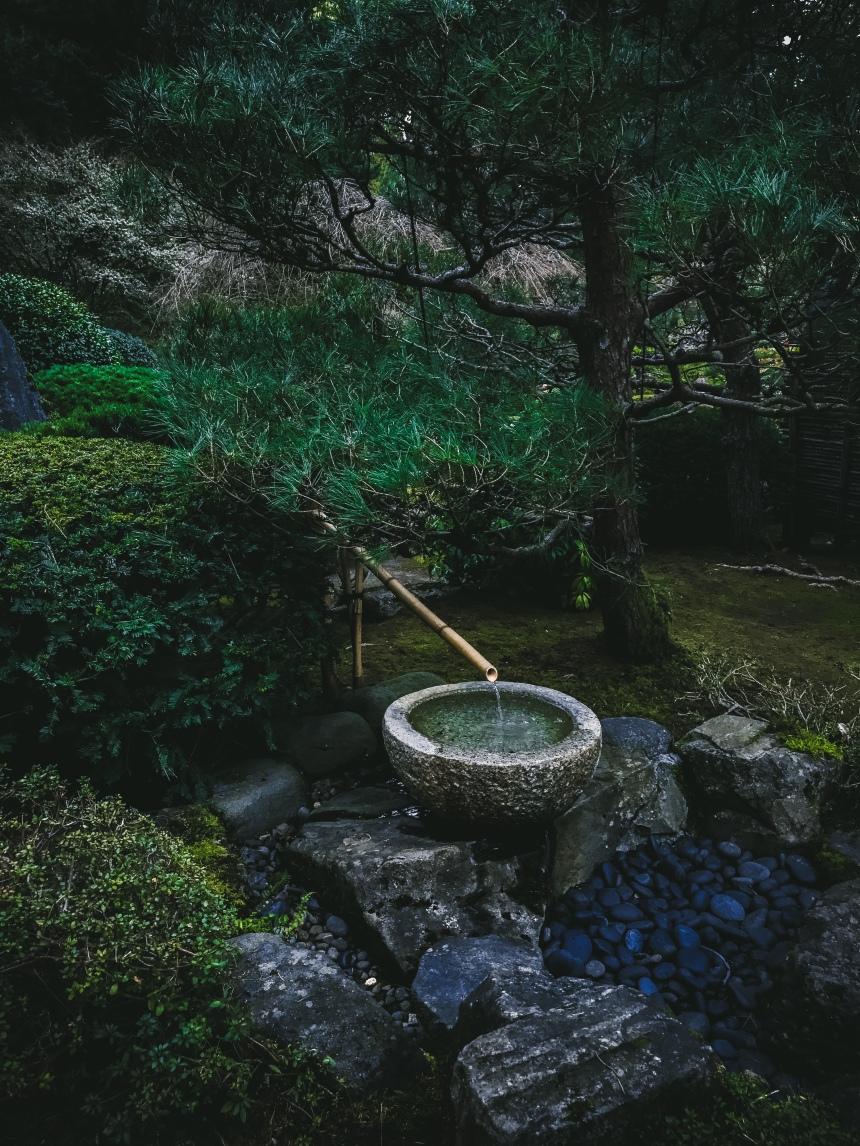 Japanese garden weekend getaway plan tourist attraction