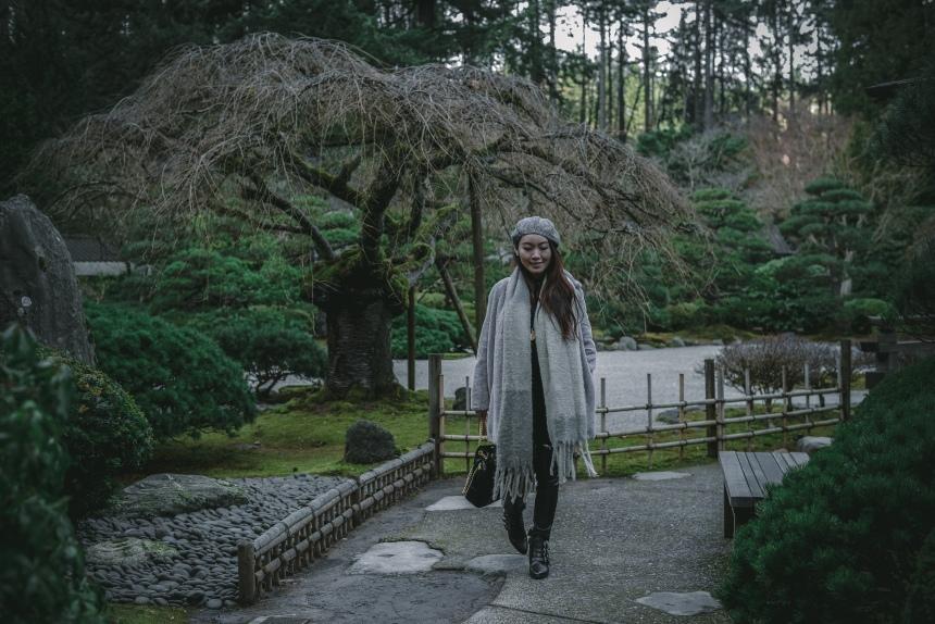 Japanese garden weekend getaway plan without driving