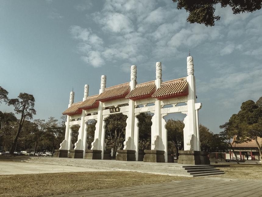 Kaohsiung Confucius Temple 孔廟 a day trip in Taiwan Kaoshiong