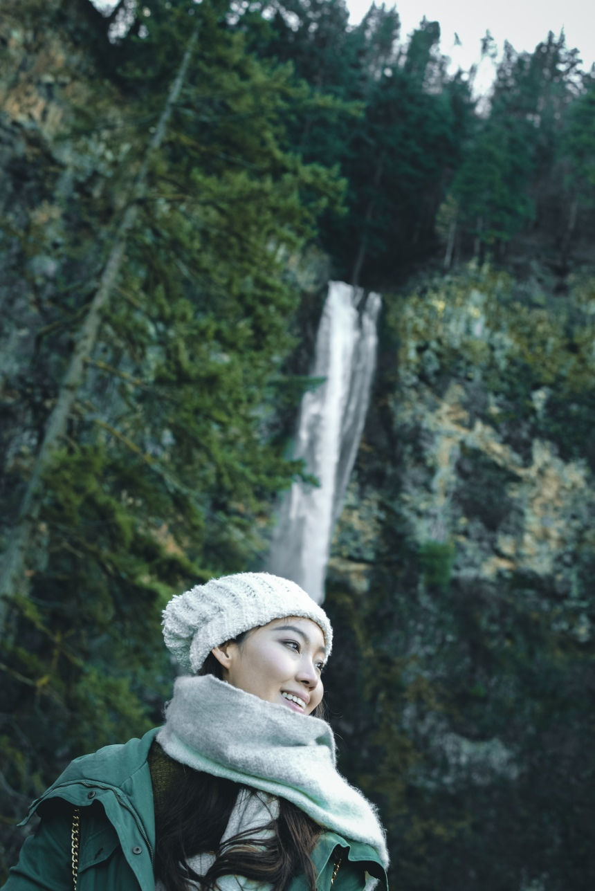 Multnomah Falls, Columbia River Gorge weekend in Portland recommendation