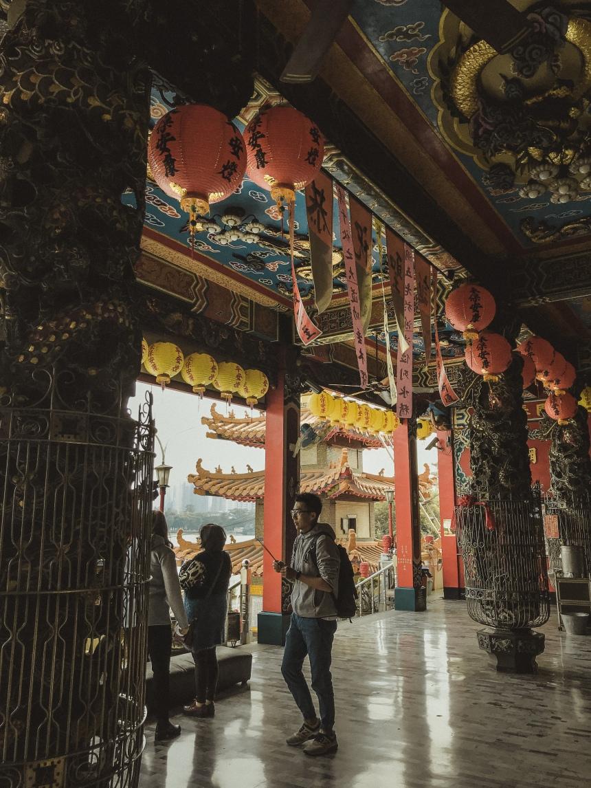 Taiwan trip Qimingtang (Qiming temple) 啟明堂