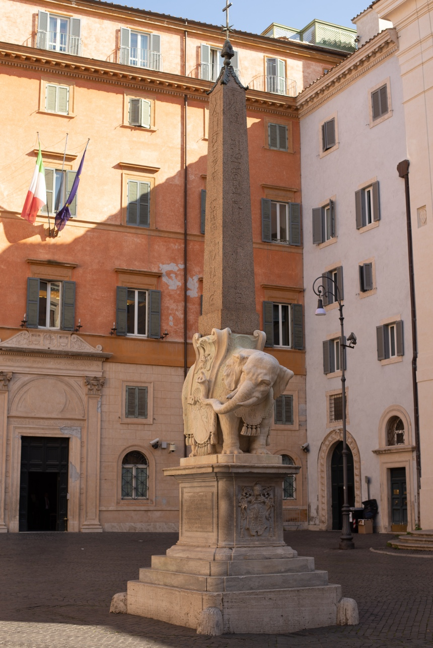 Obelisco della Minerva Elephant and Obelisk The ultimate Rome 6-day trip itinerary Day 1